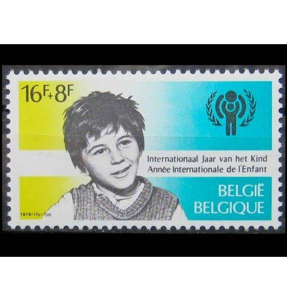 """Бельгия 1979 г. """"Хендрик Хейман, Ассоциация жертв войны, Международный год ребенка"""""""