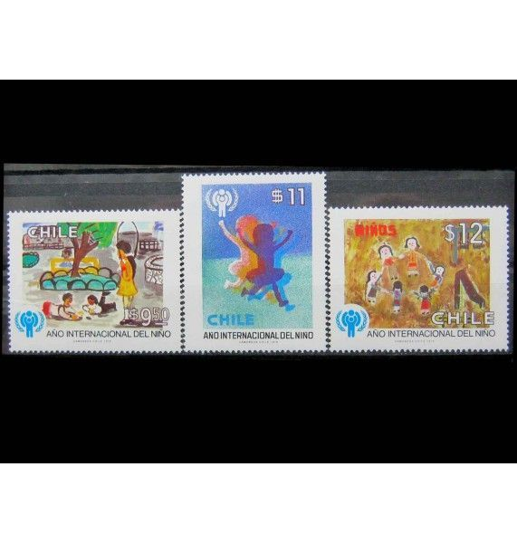 """Чили 1979 г. """"Международный год ребенка"""""""
