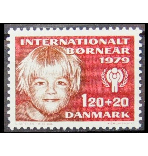 """Дания 1979 г. """"Международный год ребенка"""""""
