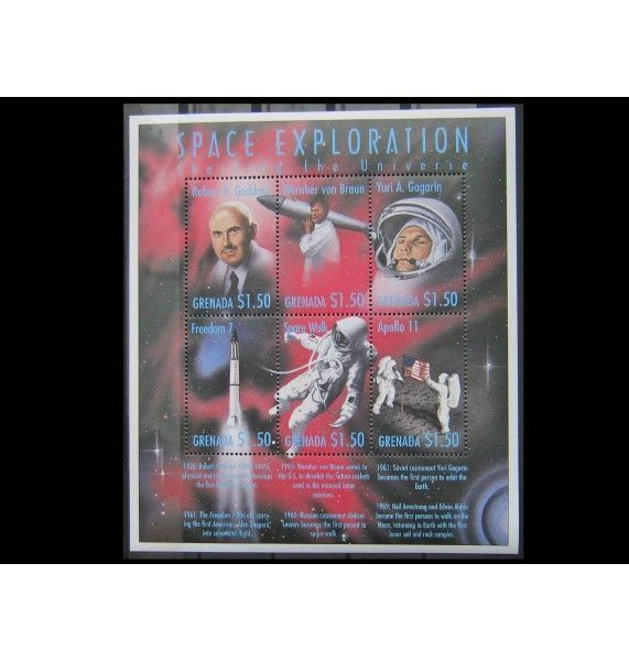 """Гренада 1999 г. """"Исследование космического пространства"""""""