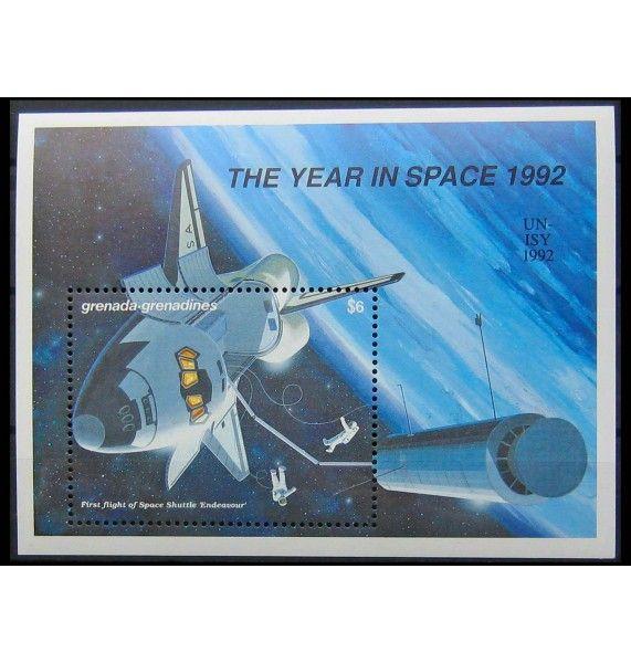 """Гренада и Гренадины 1992 г. """"Международный год космоса"""""""