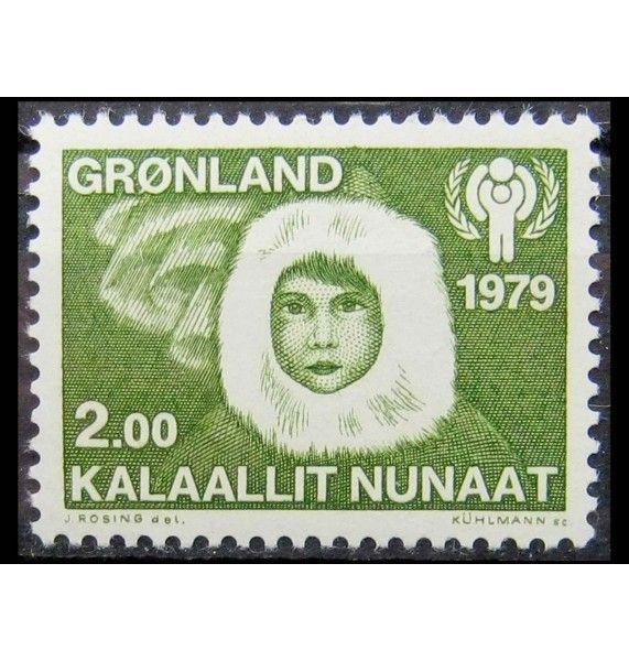 """Гренландия 1979 г. """"Международный год ребенка"""""""