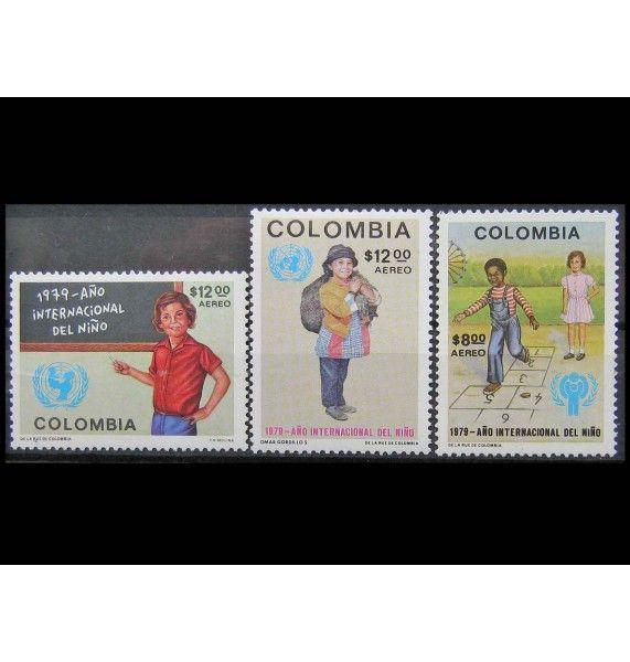 "Колумбия 1979 г. ""Международный год ребенка"""