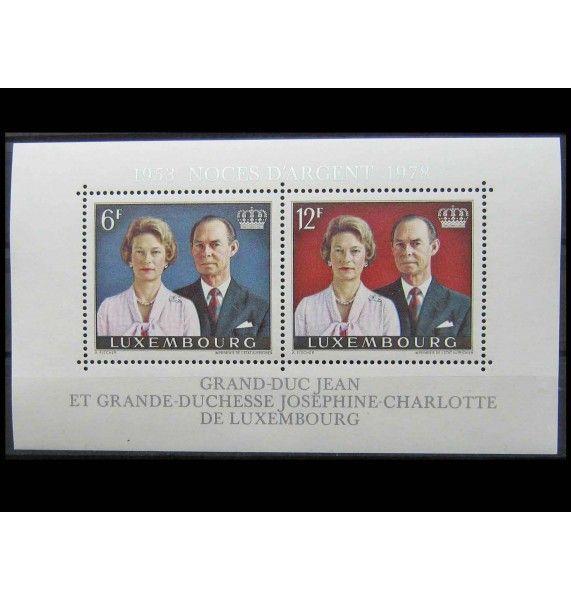 """Люксембург 1978 г. """"Серебряная свадьба Великого герцога Жана и герцогини Жозефины Шарлотты"""""""