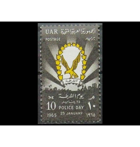 """Египет 1965 г. """"День полиции: эмблема"""""""