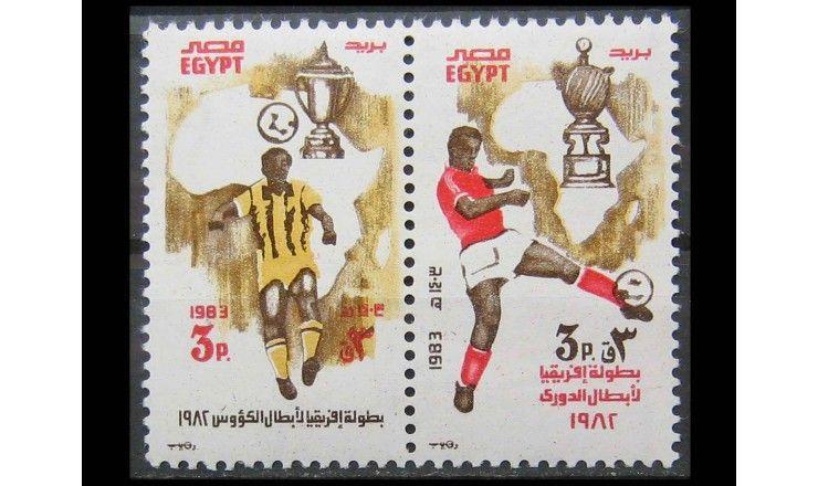 """Египет 1983 г. """"Африканские футбольные победы"""""""