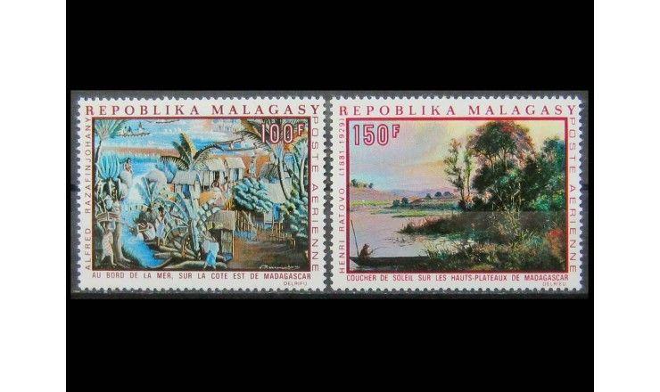 """Мадагаскар 1969 г. """"Живопись мадагаскарских художников"""""""