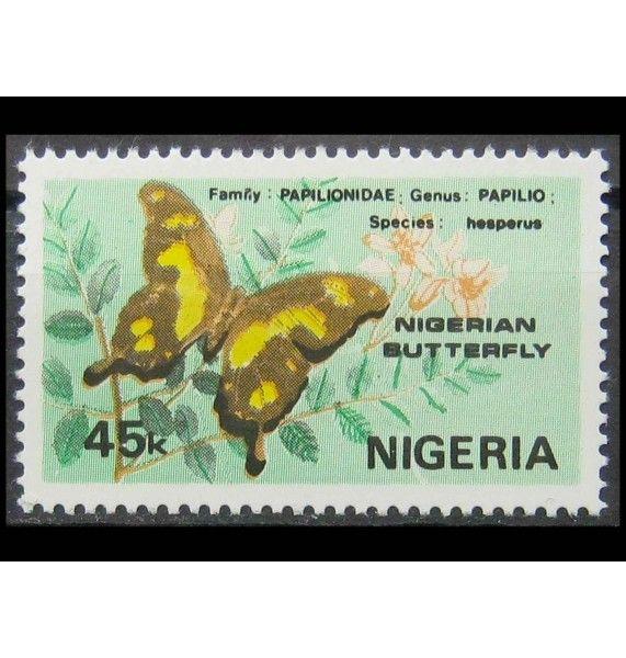 """Нигерия 1982 г. """"Бабочки"""""""