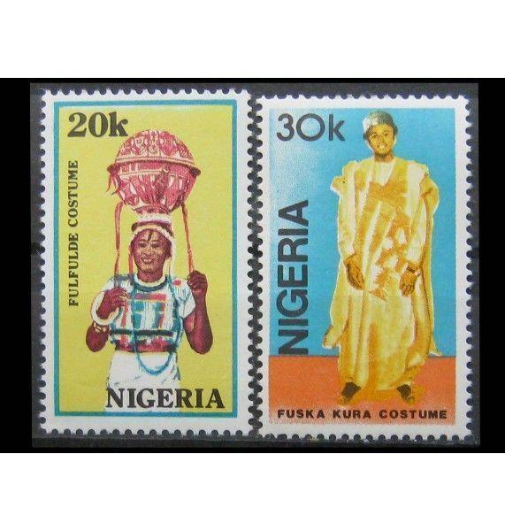 """Нигерия 1989 г. """"Национальные костюмы"""""""
