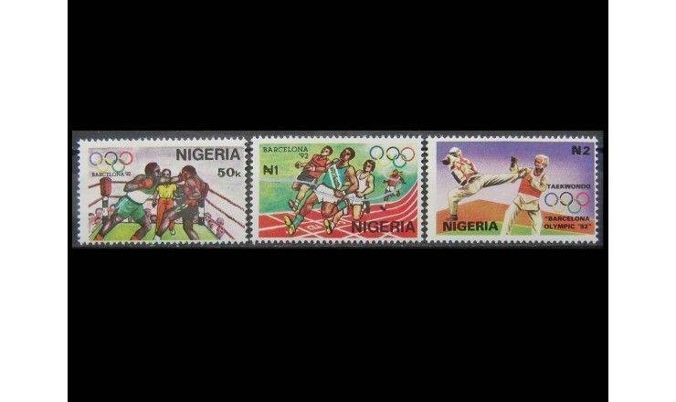 """Нигерия 1992 г. """"Летние Олимпийские игры, Барселона"""""""