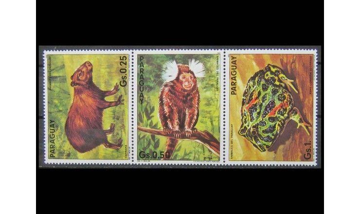 """Парагвай 1985 г. """"Фауна"""""""