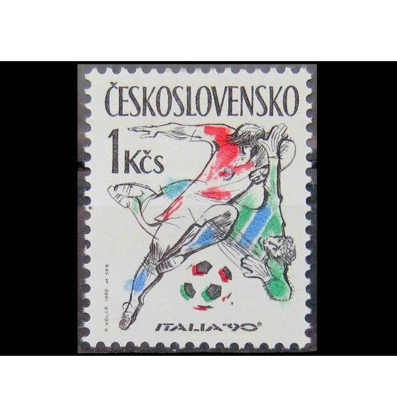 "Чехословакия 1990 г. ""Чемпионат мира по футболу, Италия"""