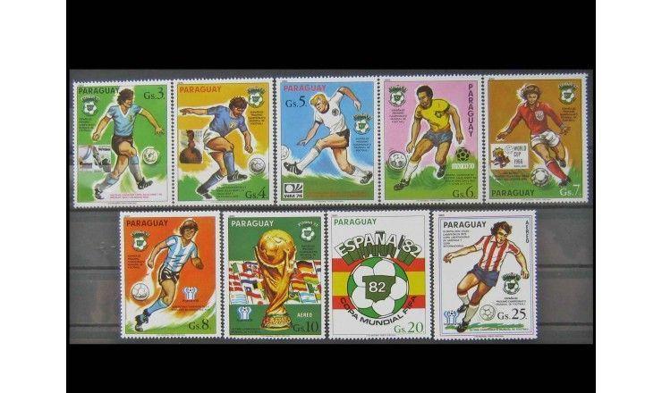 """Парагвай 1980 г. """"Чемпионат мира по футболу 1982, Испания"""""""