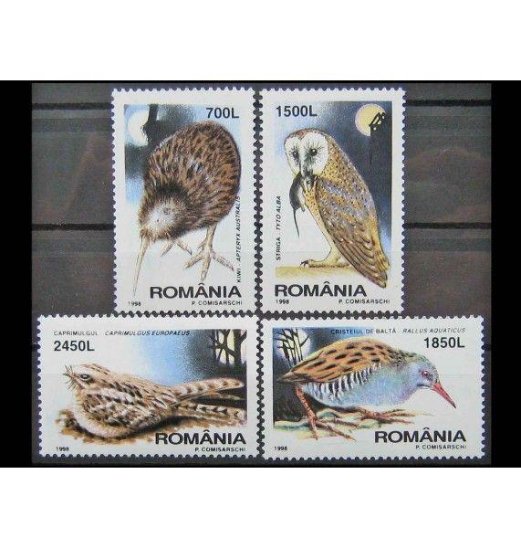 """Румыния 1998 г. """"Ночные птицы"""""""