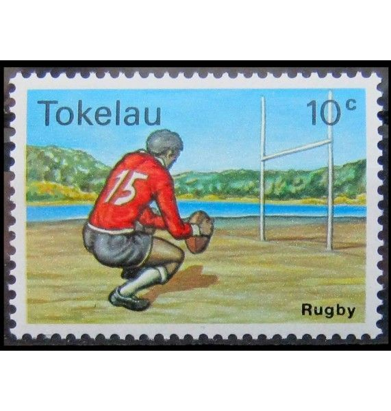 """Токелау 1979 г. """"Игры с мячом"""""""