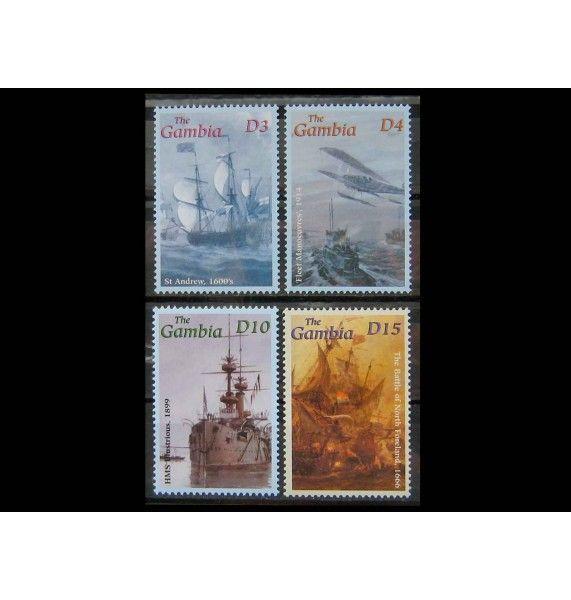 """Гамбия 2001 г. """"Королевский флот"""""""