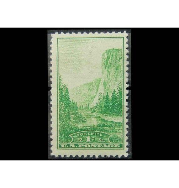 """США 1934 г. """"Йосемитский национальный парк, Калифорния"""""""