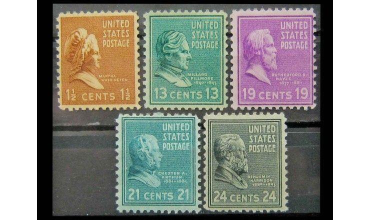 "США 1938 г. ""Президенты"""