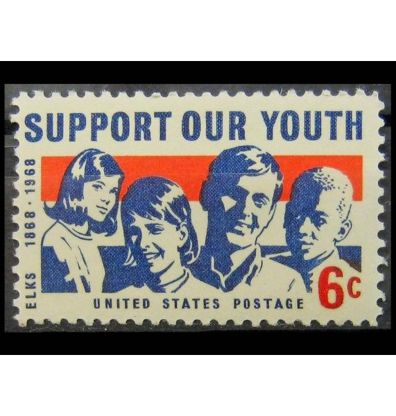 "США 1968 г. ""Девочки и мальчики"""