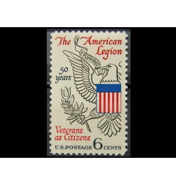 """США 1969 г. """"50-лет Американскому легиону"""""""