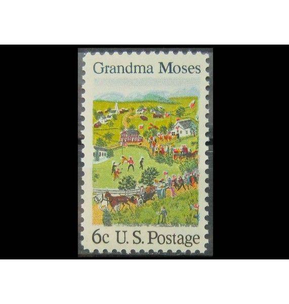 """США 1969 г. """"Американские художники: Бабушка Мозес"""""""
