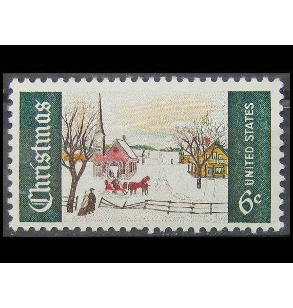 "США 1969 г. ""Рождество"""
