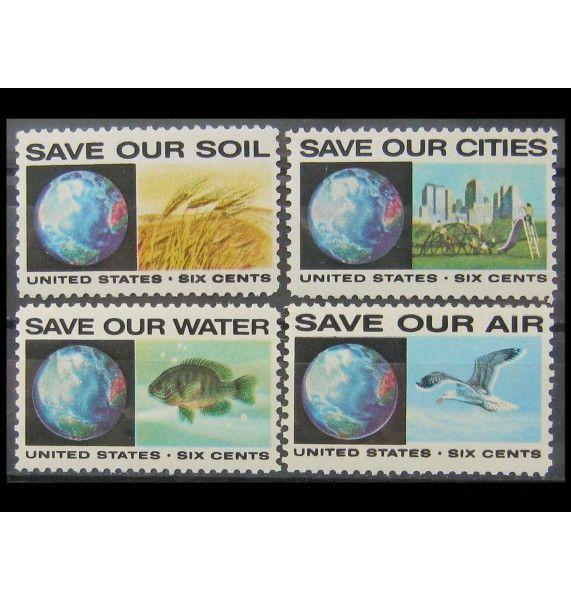 """США 1970 г. """"Охрана окружающей среды"""""""