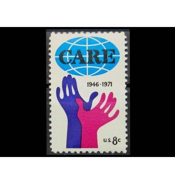 "США 1971 г. ""25-летие CARE"""