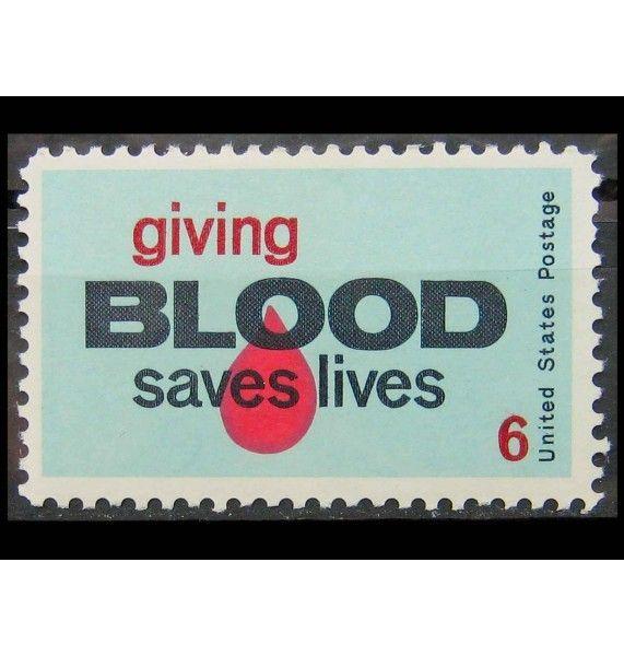 """США 1971 г. """"Донорство крови"""""""