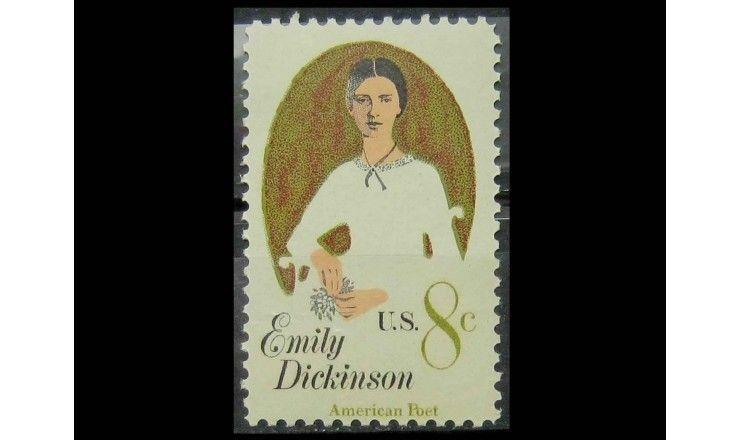 """США 1971 г. """"Эмили Дикинсон"""""""