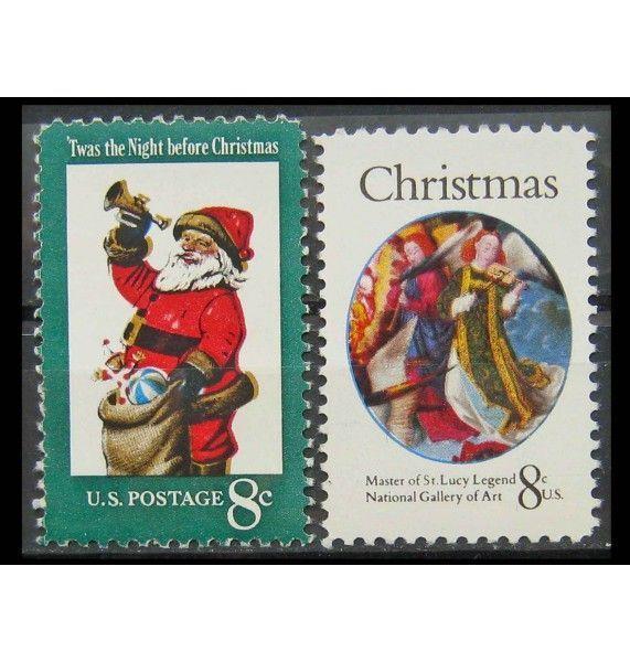 "США 1972 г. ""Рождество"""