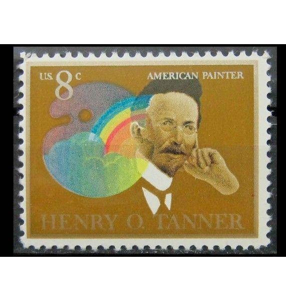 """США 1973 г. """"Генри Оссава Таннер, американский художник"""""""