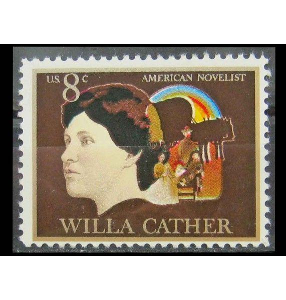 """США 1973 г. """"Уилла Кэсер, американская писательница"""""""