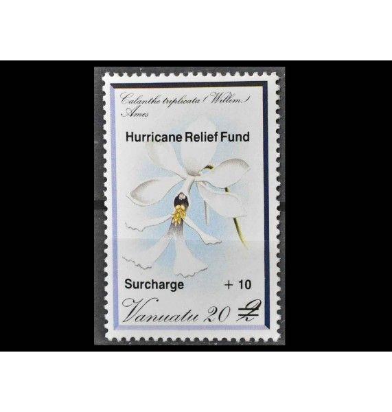 "Вануату 1987 г. ""Фонд помощи жертвам урагана"" (надпечатка)"