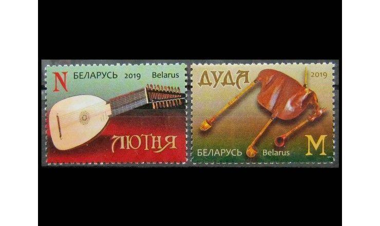 """Белоруссия 2019 г. """"Традиционные музыкальные инструменты"""""""
