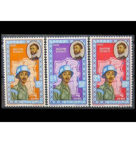 """Эфиопия 1962 г. """"70 лет императору Хайле Селассие I"""""""
