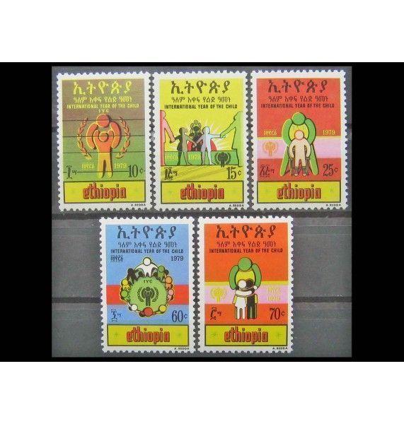 """Эфиопия 1979 г. """"Международный год ребенка"""""""