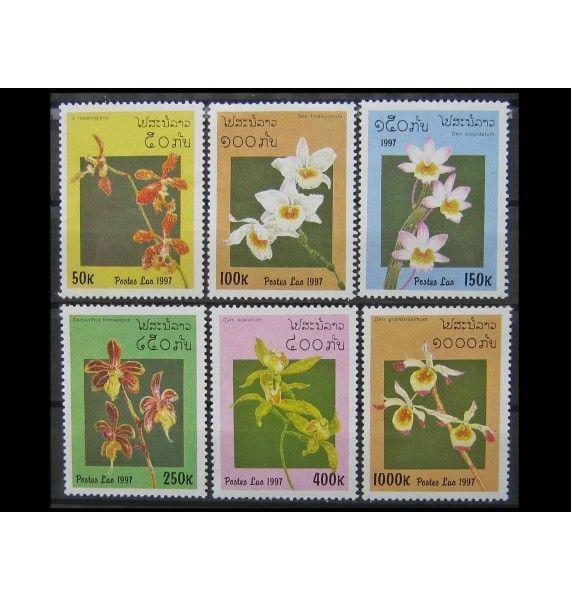 "Лаос 1997 г. ""Орхидеи"""