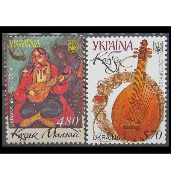 """Украина 2014 г. """"Музыкальные инструменты"""""""