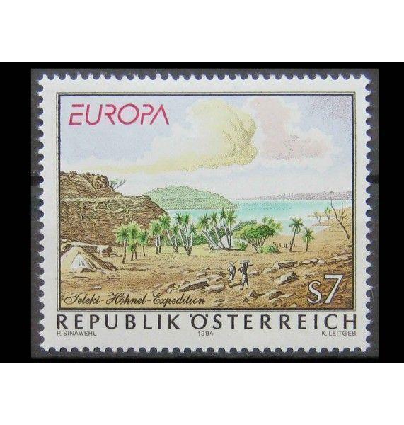 "Австрия 1994 г. ""Европа: Открытия и изобретения"""