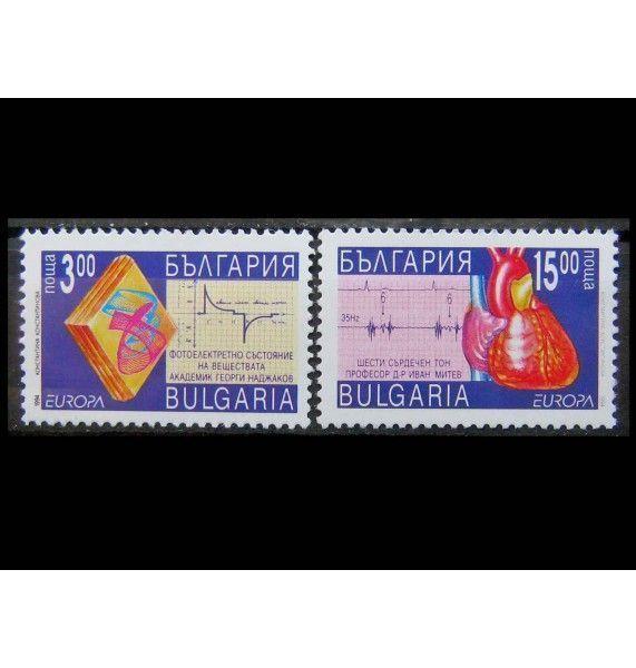 """Болгария 1994 г. """"Европа: Открытия и изобретения"""""""