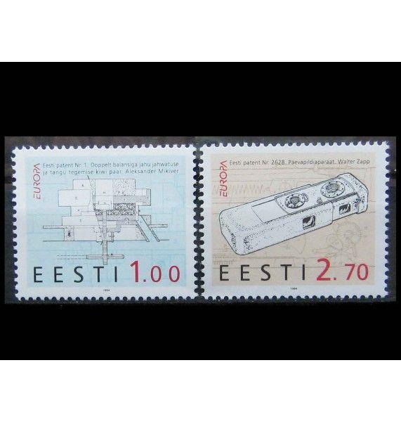 """Эстония 1994 г. """"Европа: Открытия и изобретения"""""""