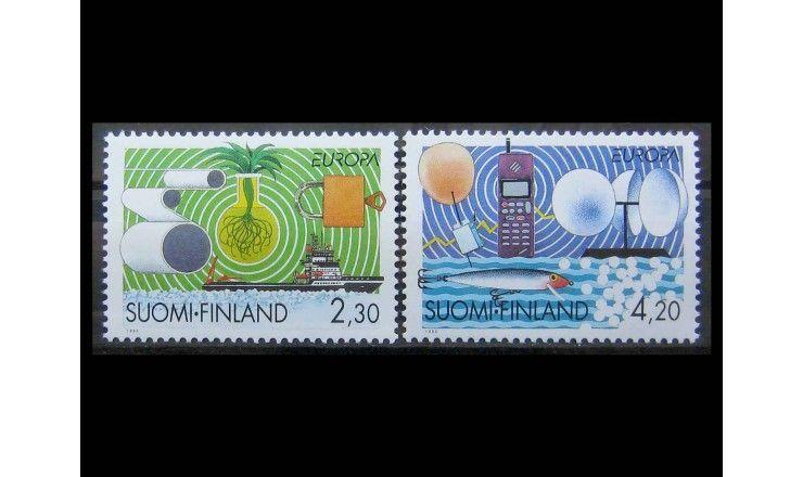 "Финляндия 1994 г. ""Европа: Открытия и изобретения"""
