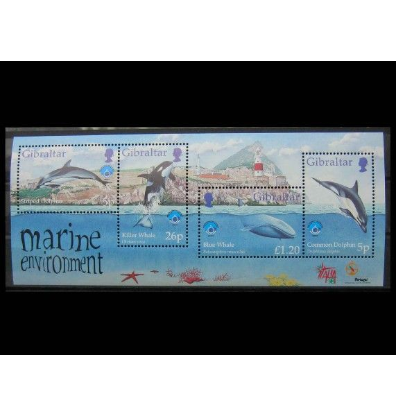 "Гибралтар 1998 г. ""Международный год океана"""