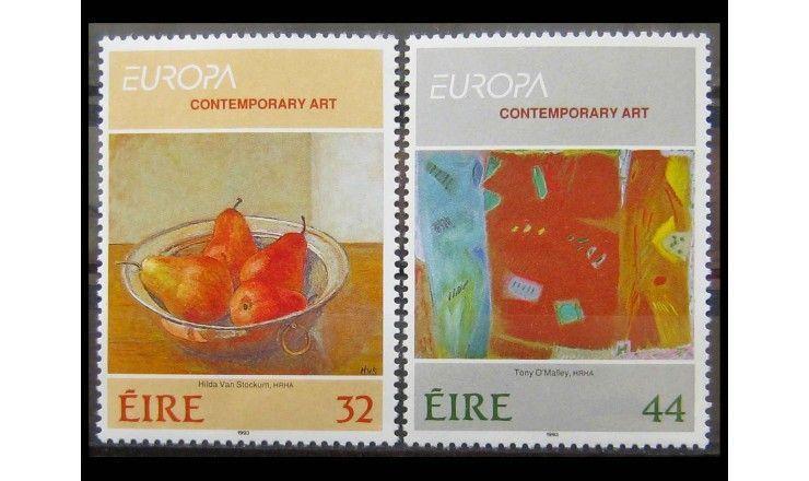 """Ирландия 1993 г. """"Европа: Современное искусство"""""""