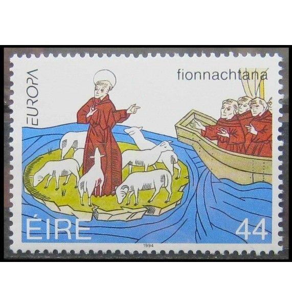 """Ирландия 1994 г. """"Европа: Открытия и изобретения"""""""