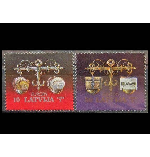 """Латвия 1994 г. """"Европа: Открытия и изобретения"""""""