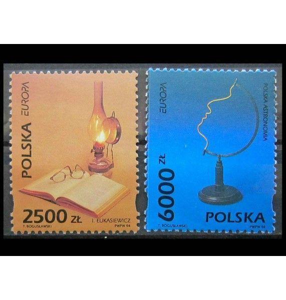 """Польша 1994 г. """"Европа: Открытия и изобретения"""""""