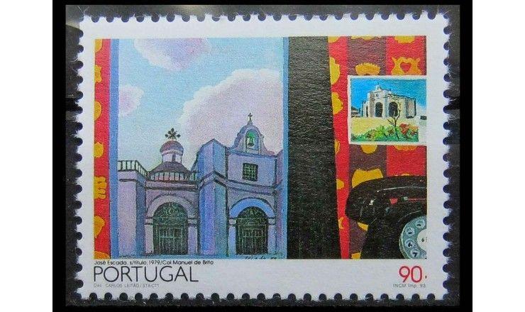 """Португалия 1993 г. """"Европа: Современное искусство"""""""