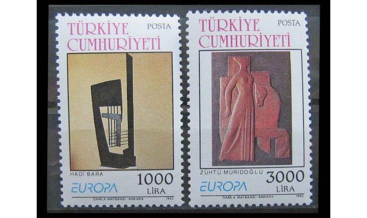 """Турция 1993 г. """"Европа: Современное искусство"""""""